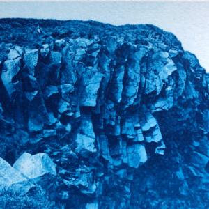 Iceland, Cyanotype